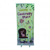 Buy cheap Indoor Roll Up Banner Size 80 x 200CM With 5-type Hook For Super Market product