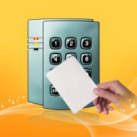 Buy cheap 125 KHz Proximity Card Reader With Keypad Waterproof Wiegand 26/34 product
