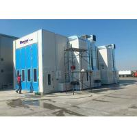 Middle Door High Precision Outside Paint Booth , Bus Spray Booth Rental