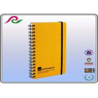 Buy cheap pp cover eco recycled Spiral Bound Notebooks with elastic band product