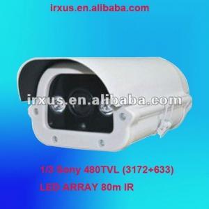 Buy cheap 80m IR LED Array cctv Box Camera, 1/3 Sony CCD 480TVL product