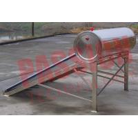 Buy cheap Food Grade Vacuum Tube Solar Water Heater Portable With Painted Steel Shell product