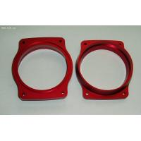 Buy cheap Custom design CNC machining aluminum part with red color anodize finish product