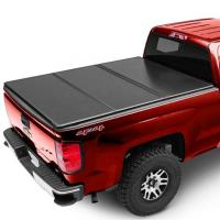 China Hilux 4 Doors D-MAX 2013 Pickup Bed Covers , Truck Tonneau Covers Black Color on sale