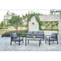 Buy cheap Rattan Garden Table And Chair Set , Luxury Wicker Patio Furniture Sets product