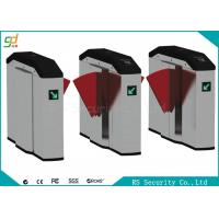 Buy cheap Smart Retractable Flap Barrier Gate Turnstile Security Subway Wing Gate product