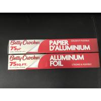 Buy cheap Household Non Stick Aluminum Foil , Embossed Aluminum Coil For Cooking / Wrapping product
