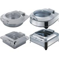 Buy cheap Catering Buffet Equipment Drop - In Induction Chafing Dish With Glass Or Solid Lid product