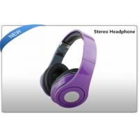 China Media Player Portable Stereo Headphones , surround sound headphones on sale
