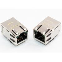 Buy cheap R / A 1000 Base - T Integrated Magnetics RJ45 , Ethernet Lan RJ45 Connector product