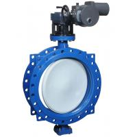 Cheap Motor Driven Electric Butterfly Valve For Cool / Hot Water And Glycol wholesale