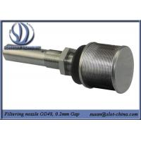 Buy cheap Long-necked Filter Nozzle With V shape Profile Wire Screen Element product