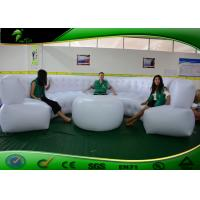 Buy cheap Popular Durable Bounce Inflatable Bar Sofa , 4m Long White Inflatable Sofa For Events product