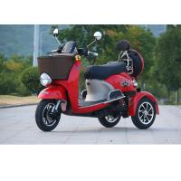 Buy cheap 800W electric tricycle 3 wheel scooter with 60V20Ah lead-acid battery 25km/h Range Per Charge 40-60km  6-8h product