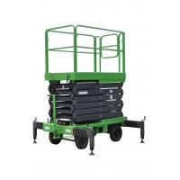 Buy cheap 7.5m Mobile Scissor Lift With Anti - Skid Platform 1.8 * 1m of 450kg of Capacity product