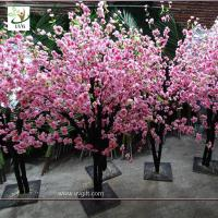 Buy cheap UVG china wedding supplies party decoration pink artificial peach blossom trees for sale CHR152 from wholesalers