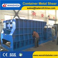 Buy cheap China Wanshida Horizontal Automatic Container Metal Shearing equipment export to Ukraine product