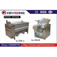 China Small Scale Food Frying Machine For Fried Snacks Chips Production Line No Oil Smoke on sale