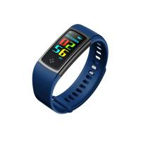 China Nice  color smart bracelet with blood pressure function bluetooth bracelet support iphone and Android phone systerm on sale