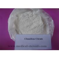 Buy cheap Health Raw Steroid Powders Clomifene Citrate​ White Crystalline Powder CAS 50-41-9 product