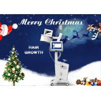 Buy cheap 8 Inch Touch LCD Screen Laser Hair Regrowth Machine With Skin Analyzer Painless product