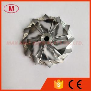 China K04 K0422582 6+6 blades 41.72/56.08mm Turbocharger Billet/milling/aluminum 2618 compressor wheel for MAZDA on sale