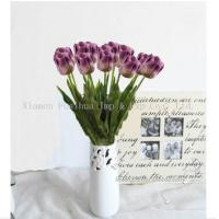 Buy cheap Artificial Flowers Purple Tulips product