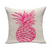 """Buy cheap Throw Pillow Covers Pineapple Decorative Pillowcases Pillow Cushion Covers for Sofa Couch 18"""" x 18"""" product"""