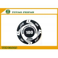 Large Funny Rounders World Tournament Poker Chips With Values 100
