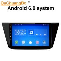 Buy cheap Ouchuangbo car radio stereo multi android 6.0 for VW Tiguan 2017 with SWC gps navi 1080P Video 4 Cores from wholesalers