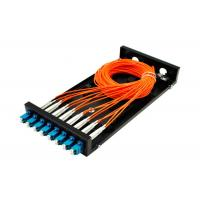 Buy cheap SC / LC Fiber Optic Distribution Frame ODF 8 / 16 Port Fiber Optic Patch Panel SX / DX from wholesalers