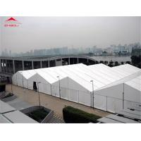 Buy cheap Anti - UV 20m Industrial Storage Tents With High Reinforced Aluminum 6061 / T6 Material product