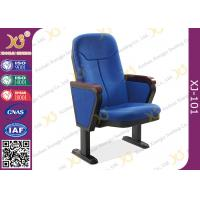 Buy cheap 560mm Center Distance Fabric Cushion Auditorium Chairs Meeting Room product