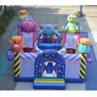 Buy cheap Large Size Outdoor jumping Inflatable Castle WIith Slide Best Selling  Top Quality Inflatable Bouncy Castle product