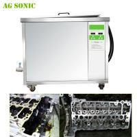 China Strong Power Engine Block Ultrasonic Cleaning Machine 28khz Oil Rust Removing on sale