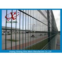 Buy cheap Powder Coated Twin / Double Wire Fence 200*50mm For Country Border from wholesalers