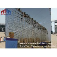 Buy cheap Adjustable Portable Event Layer Stage System Galvanized Steel Lifting LED Screen from wholesalers
