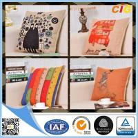 Buy cheap Black / Red / Blue Colorful Decorative Embroidery Decorative Cushion Covers , from wholesalers