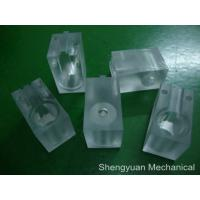 Buy cheap Precision Machined Plastic Parts Transparent Color Lexan SAM Test Head from wholesalers