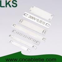 Buy cheap Stainless steel marker plates product