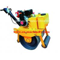 Buy cheap Walk Behind Construction Machinery Single Drum Road Roller Of Concrete Tools product