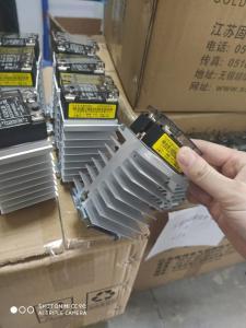 Buy cheap Gold 48-600VAC SSR Heatsink product