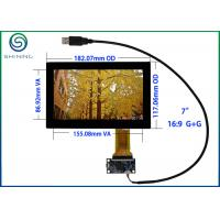"Buy cheap USB 7"" Capacitive Touch Screen ITO Glass Cover Lens Multi-Touch Panel For Intelligent Appliances product"