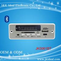 Buy cheap JK0061BT  Bluetooth aux sd card usb fm module mp3 player circuit board product