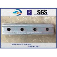 Buy cheap High Tensile Railway Fish Plate For BS80A Steel Rail Standard Joint Bar 45# from wholesalers
