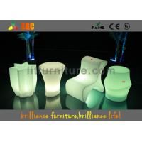 Buy cheap Hotels Led Cube Chair With Wireless Remote Control And CE , ROHS ,UL product
