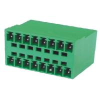 Buy cheap Communications Electrical Terminal Block Connectors 3.5mm 2*8P 180° product