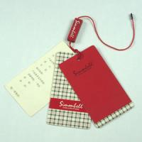 Buy cheap sale hang tags from wholesalers