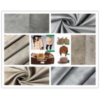 Buy cheap Customize Color Faux Suede Fabric For Clothing , 105D Stretchable Suede Fabric product