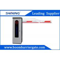Buy cheap 3S Lifting Time Intelligent Car Parking Lot Barrier Gate With Folding Arm product